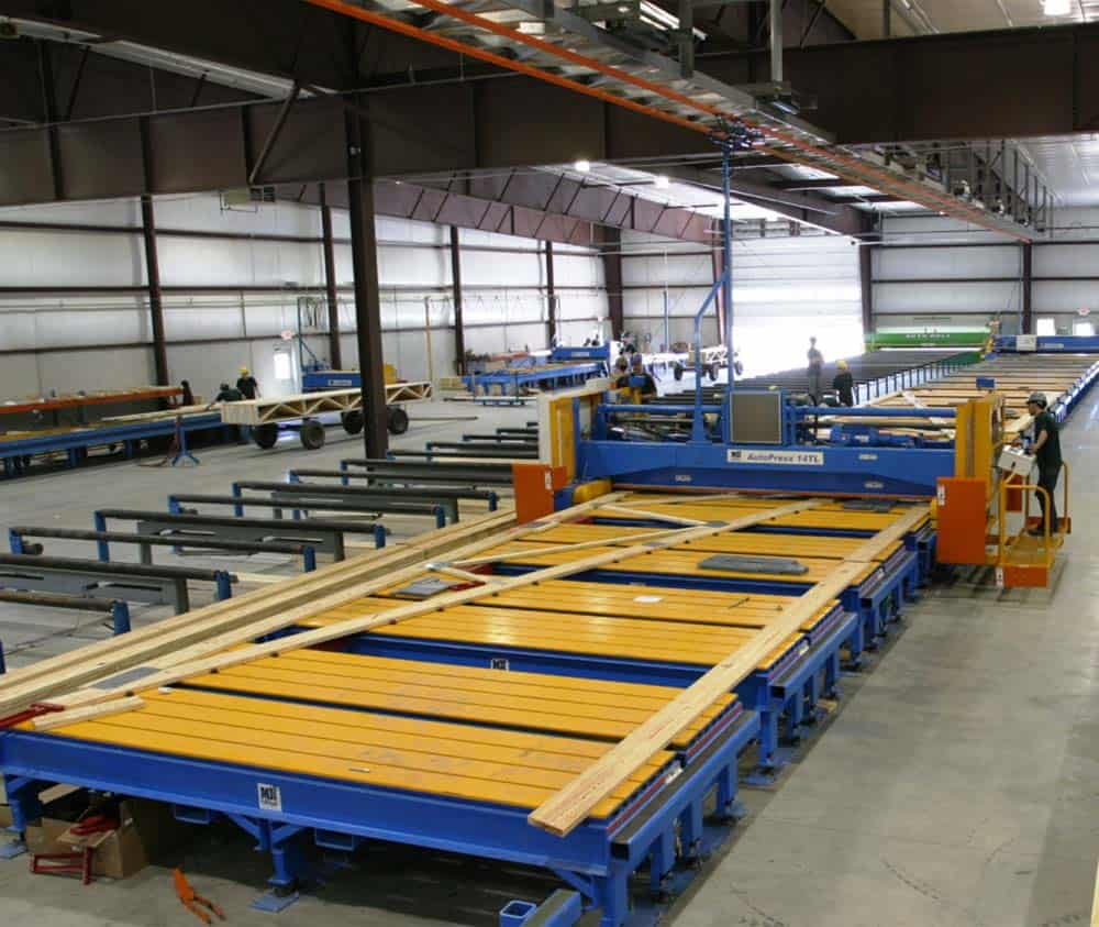 ag truss press machine