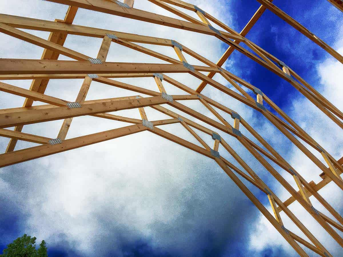 Residential Trusses Select Trusses & Lumber Inc. #1C3787